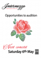 Opportunities to audition for Intermezzo