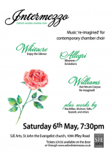 Intermezzo Easter 2017 concert poster