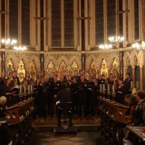 In concert at Exeter College chapel